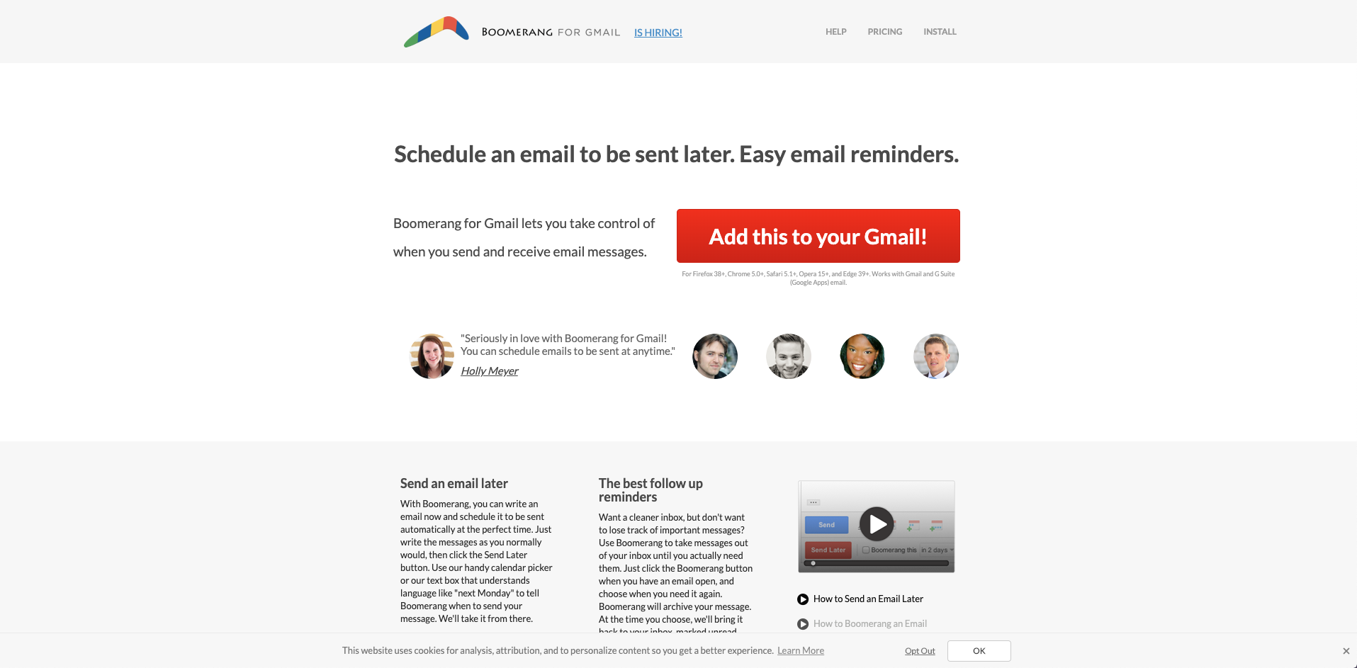 Envoyer des relances clients par email