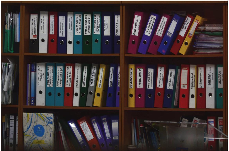multi color file cabinets